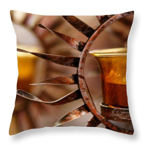 Sun Throw Pillow featuring the photograph Solar Evolution by Linda Shafer