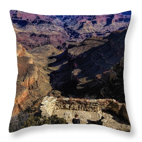 Solitude Throw Pillow featuring the photograph Solitude by Jon Burch Photography