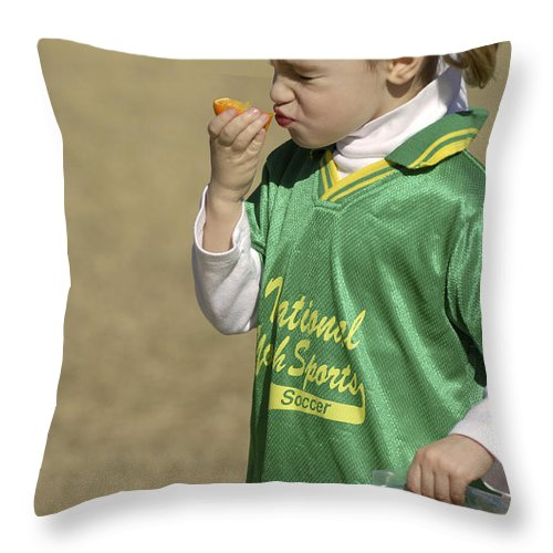 Food Throw Pillow featuring the photograph Sour by Jill Reger