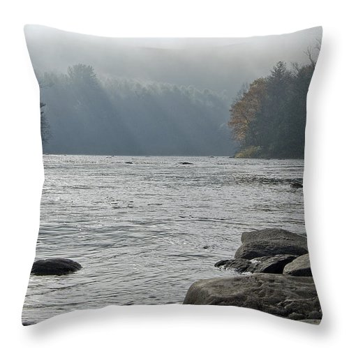 Water Throw Pillow featuring the photograph Southbound by Tom Heeter