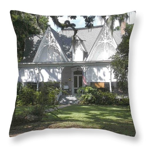 St. Francisville Throw Pillow featuring the photograph Southern Comfort by Nelson Strong