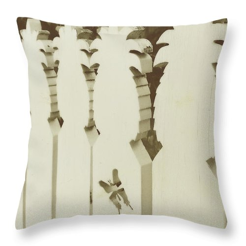 Key West Throw Pillow featuring the photograph Southern Welcome by JAMART Photography