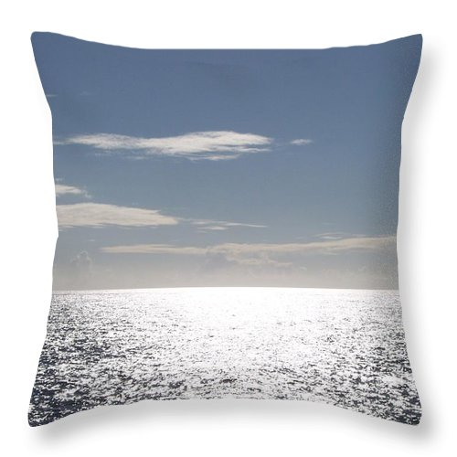 Ocean Throw Pillow featuring the photograph Sparkling Ocean by Michelle Miron-Rebbe