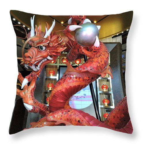 Attraction Throw Pillow featuring the photograph Spin by Trevor Whitehead