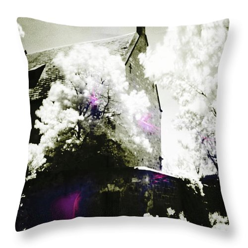 Spirit Throw Pillow featuring the photograph Spirits And Church by Phill Petrovic