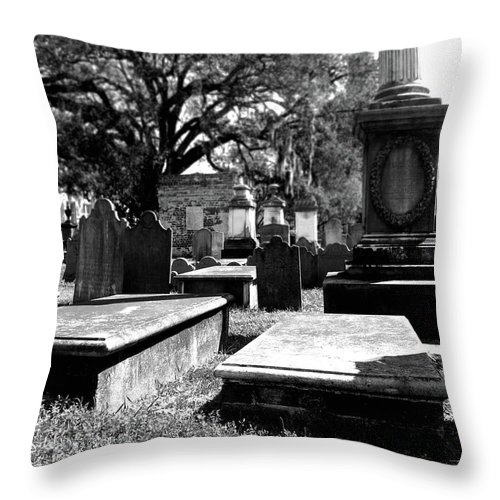 Charleston Throw Pillow featuring the photograph Spirits Of Charleston by Marti Green