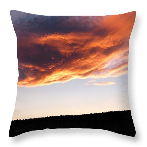 Splendid Cloudscape 11 Throw Pillow featuring the photograph Splendid Cloudscape 11 by Will Borden