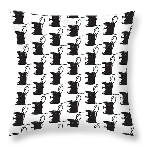 Needle And Thread Throw Pillow featuring the digital art Spool Me Once by Alana Gillihan
