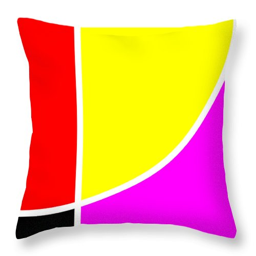 Square Throw Pillow featuring the digital art Sport by Eikoni Images