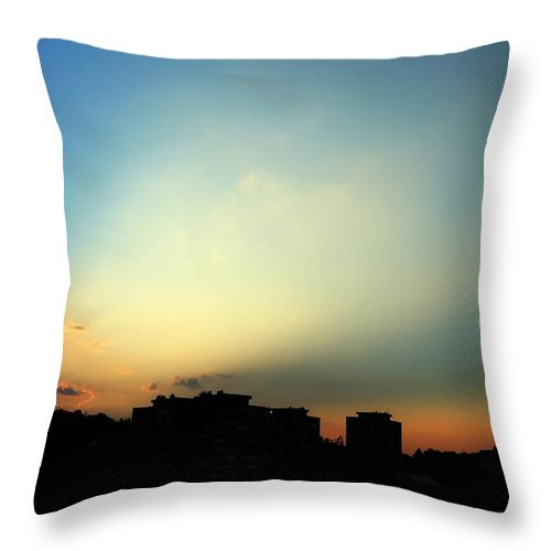 Nature Throw Pillow featuring the photograph Spotlight by Daniel Csoka