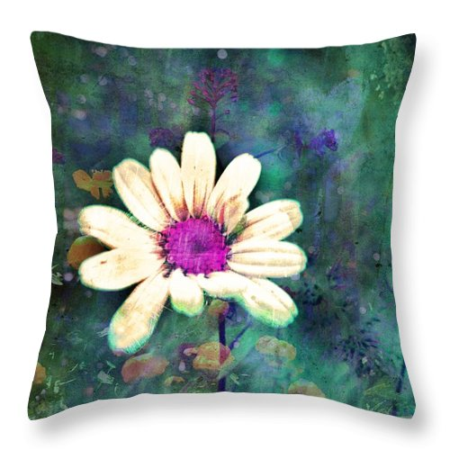 Wall Art Throw Pillow featuring the photograph Spring Daydreams by Tara Turner