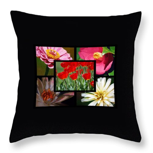 Spring Throw Pillow featuring the photograph Spring by Donna Bentley