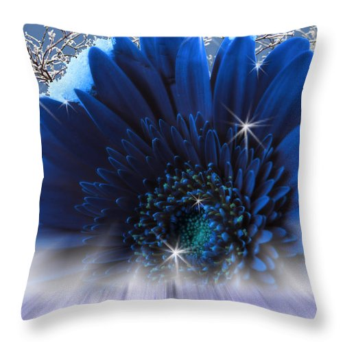 Surrealism Throw Pillow featuring the digital art Spring Emergence by Cathy Beharriell