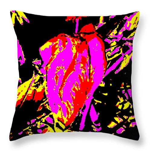 Square Throw Pillow featuring the digital art Sprite by Eikoni Images