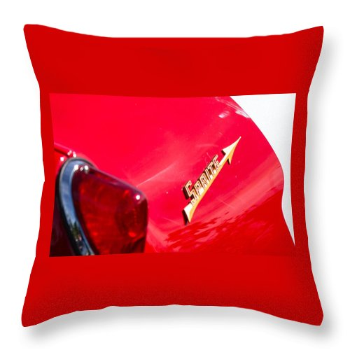 Throw Pillow featuring the photograph Sprite by Timoke Brown