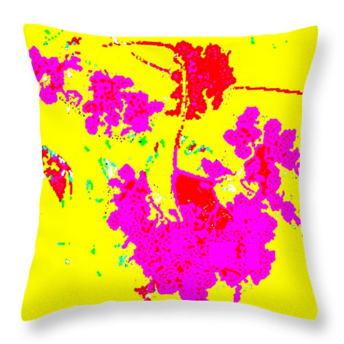 Square Throw Pillow featuring the digital art Sprung by Eikoni Images