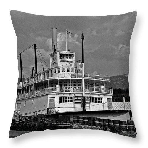 North America Throw Pillow featuring the photograph S.s. Klondike by Juergen Weiss