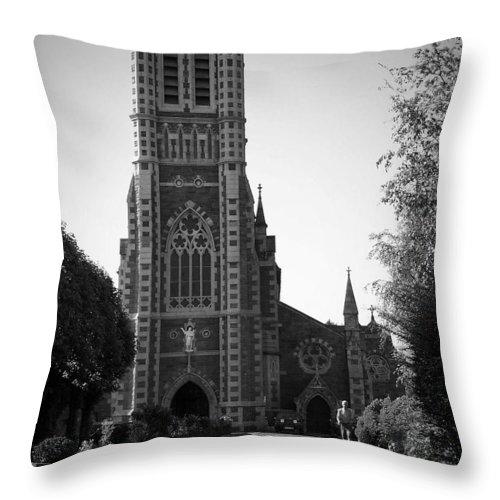 Irish Throw Pillow featuring the photograph St. John's Church Tralee Ireland by Teresa Mucha