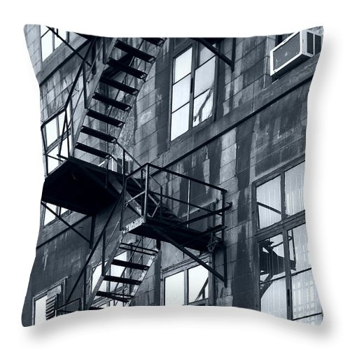 Canada Throw Pillow featuring the photograph Stairs by Pierre Logwin