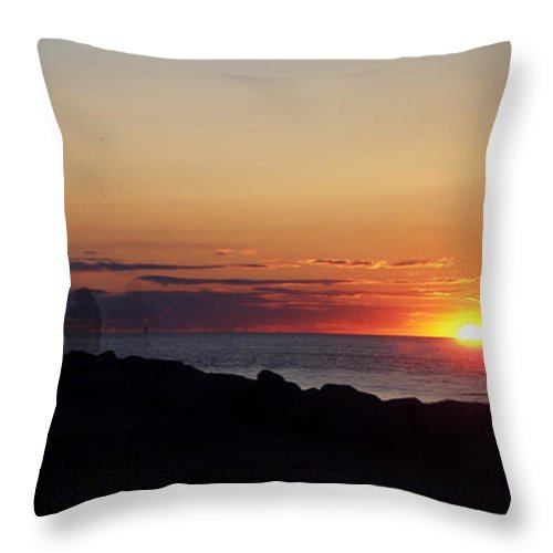 Photography Throw Pillow featuring the photograph Standing The Test Of Time by Frederic A Reinecke