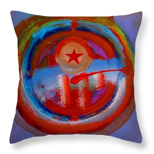 Love Throw Pillow featuring the painting Star Of The Sea by Charles Stuart