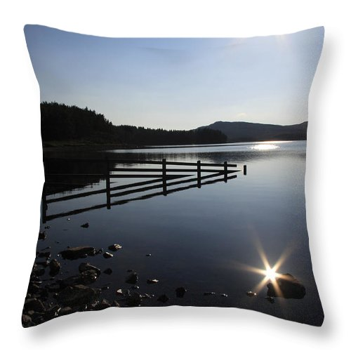 Sun Throw Pillow featuring the photograph Starburst by Phil Crean