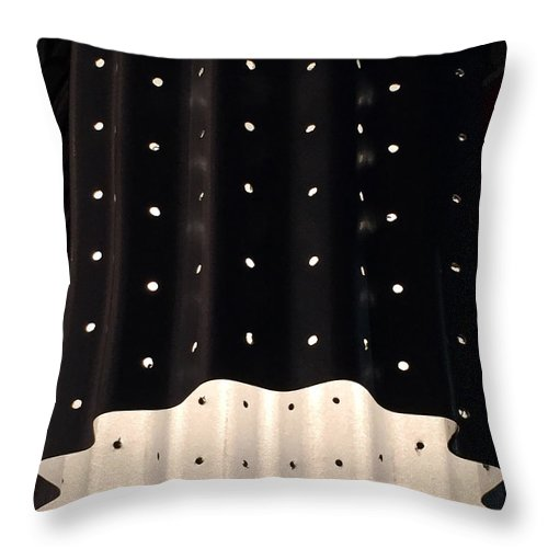 Lights Throw Pillow featuring the photograph Starry Starry Night by Rick Locke