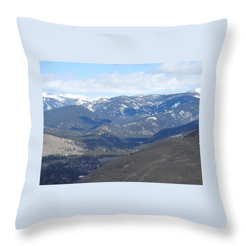 Throw Pillow featuring the photograph Stealth Shadows by Dan Hassett