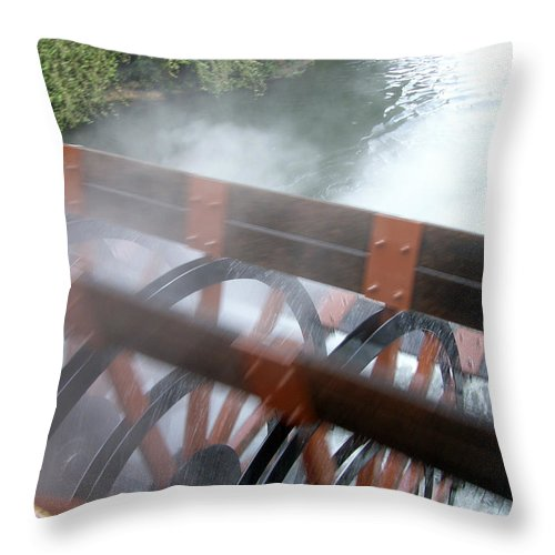 Steamboat Throw Pillow featuring the photograph Steamboat by Are Lund