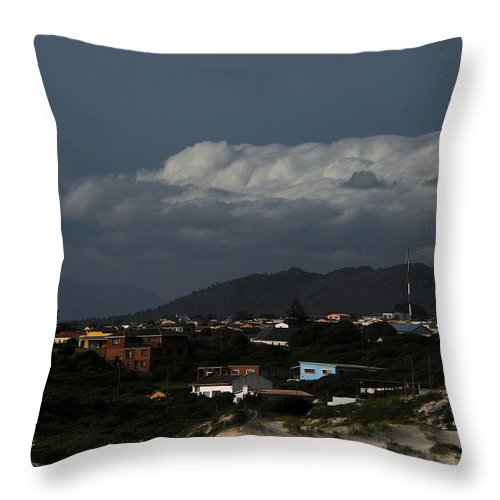 Clouds Throw Pillow featuring the photograph Stormy Clouds by Earl Maree