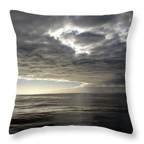 Straits Of Magellan Throw Pillow featuring the photograph Straits Of Magellan I by Brett Winn