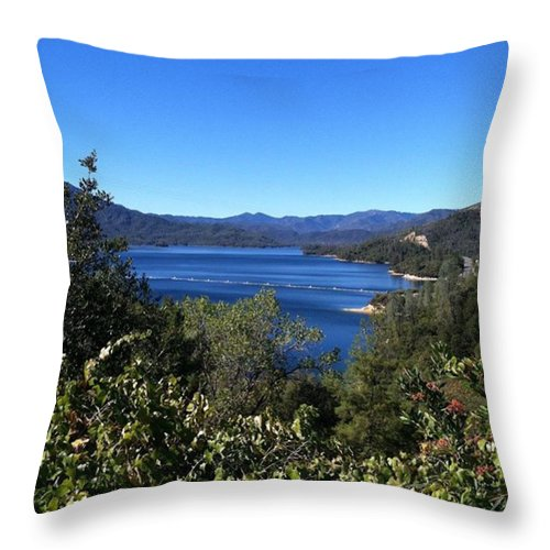 California Throw Pillow featuring the photograph Such A Beautiful Fall Day In by Jennifer Beaudet Zondervan