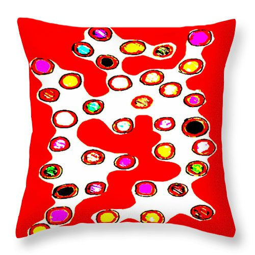 Square Throw Pillow featuring the digital art Such A Lovely Day Don't You Think by Eikoni Images