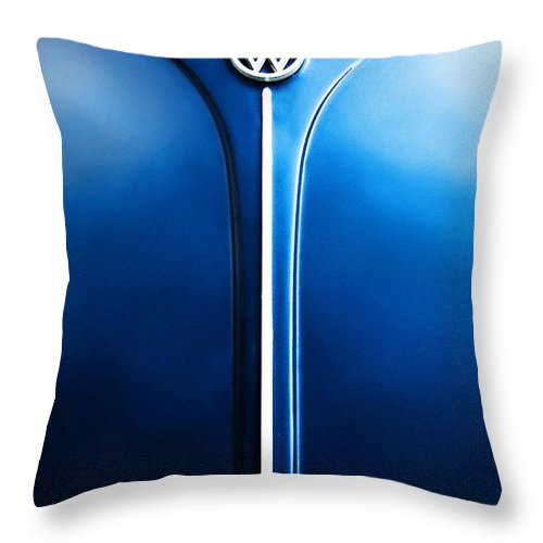 Blue Throw Pillow featuring the photograph Summer 1976 by Dana DiPasquale