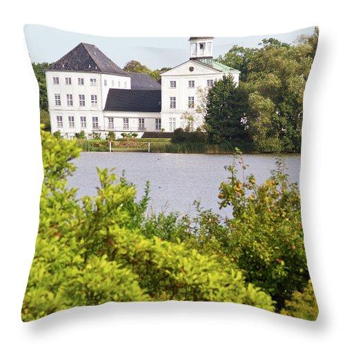 Grasten Throw Pillow featuring the photograph Summer Palace 2 by Bernard Barcos