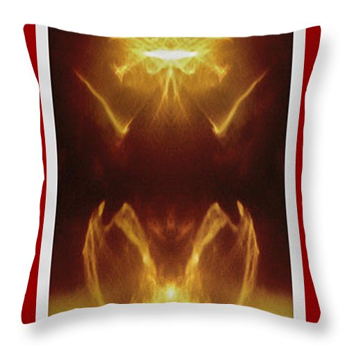 Sunlight Throw Pillow featuring the photograph Sun Light by William Alger