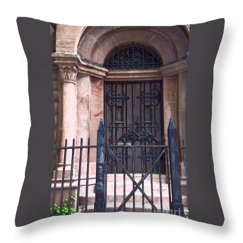 Church Throw Pillow featuring the photograph Sunday by Debbi Granruth