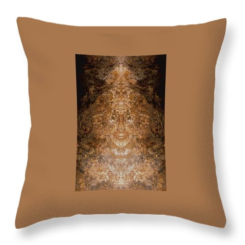 Rocks Throw Pillow featuring the photograph Sunqueen Of Woodstock by Nancy Griswold