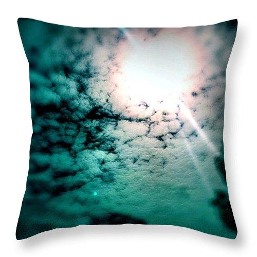 Beautiful Throw Pillow featuring the photograph #sunrise #sun #tagsforlikes.com #tflers by Jason Roust