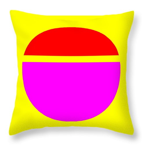 Square Throw Pillow featuring the digital art Sunrise Sunset by Eikoni Images