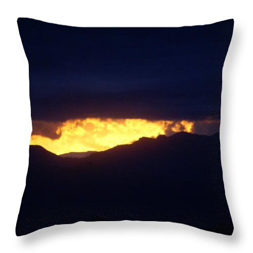 Sunset Throw Pillow featuring the photograph Sunset Denver II by Jacqueline Russell