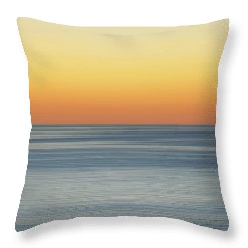 Landscape Throw Pillow featuring the photograph Sunset Dreams by Az Jackson