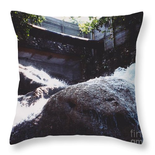 Landscape Throw Pillow featuring the photograph Sunshine by Michelle Powell