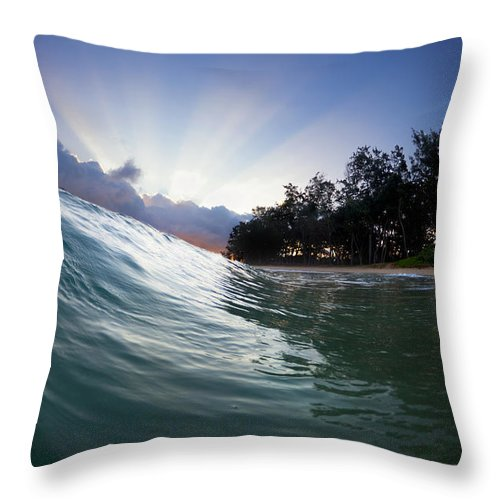 Super Nova Throw Pillow featuring the photograph Super Nova by Sean Davey