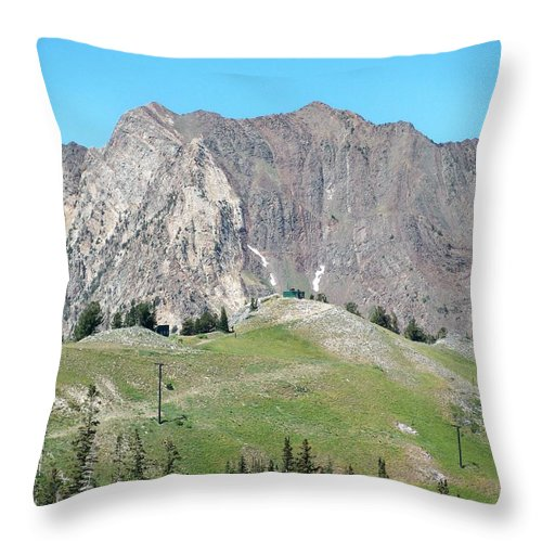 Landscape Throw Pillow featuring the photograph Superior by Michael Cuozzo