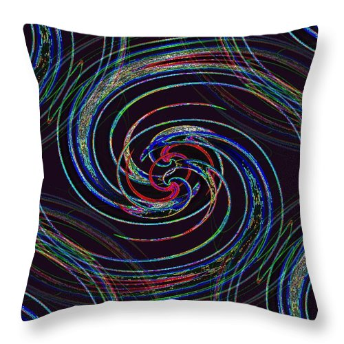 Surfs Up Throw Pillow featuring the photograph Surfs Up 2 by Tim Allen