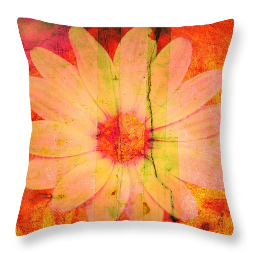 Flower Throw Pillow featuring the photograph Surprise Me by Susanne Van Hulst
