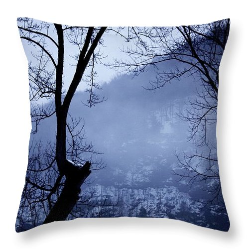 Falls Pennsylvania Throw Pillow featuring the photograph Susquehanna Dreamin... by Arthur Miller