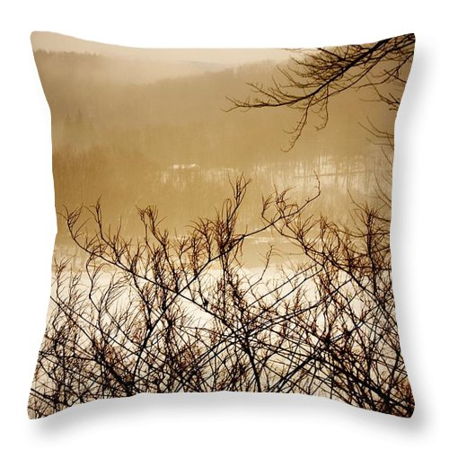 Falls Pennsylvania Throw Pillow featuring the photograph Susquehanna Vibes... by Arthur Miller