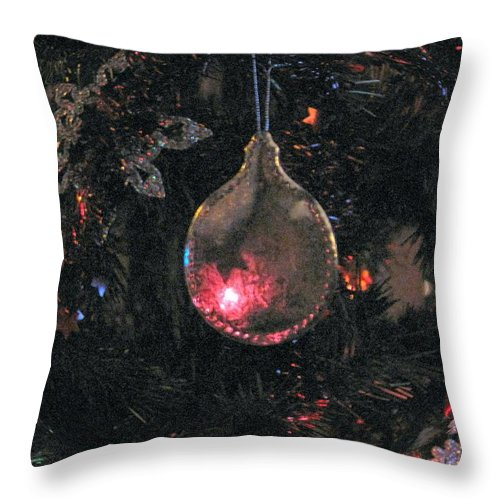 Christmas Throw Pillow featuring the photograph Symbol by Ian MacDonald
